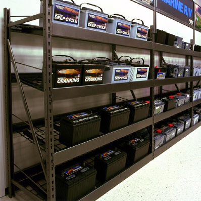 Automotive Battery Rack
