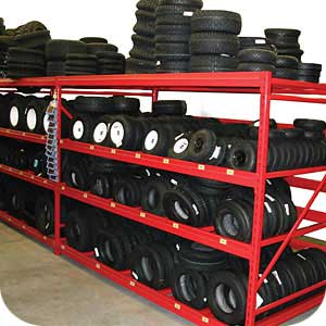 Automotive Tire Rack
